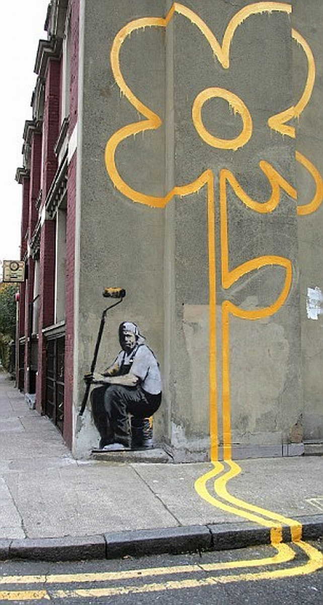 53 Banksy Graffiti Artworks – supercubed