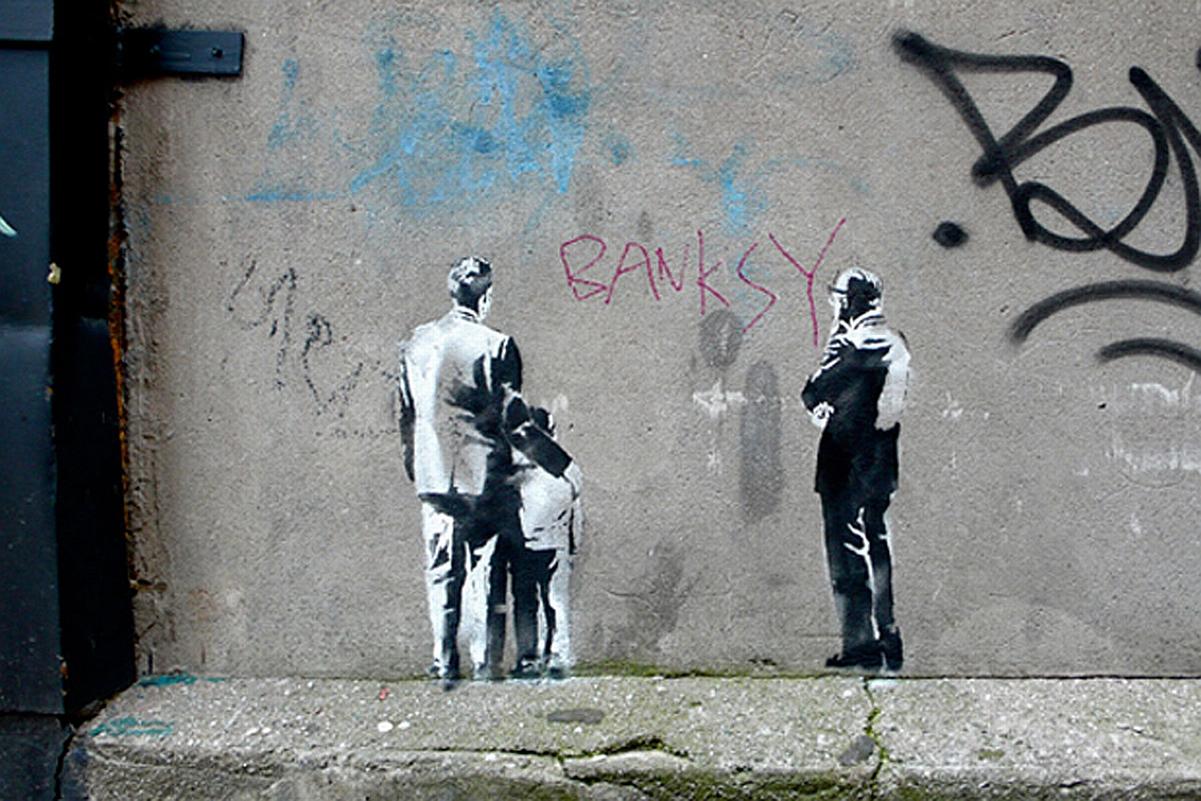 Wall Paper Murals 53 Banksy Graffiti Artworks Supercubed