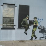 banksy-looters