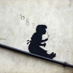 banksy-sliding-girl