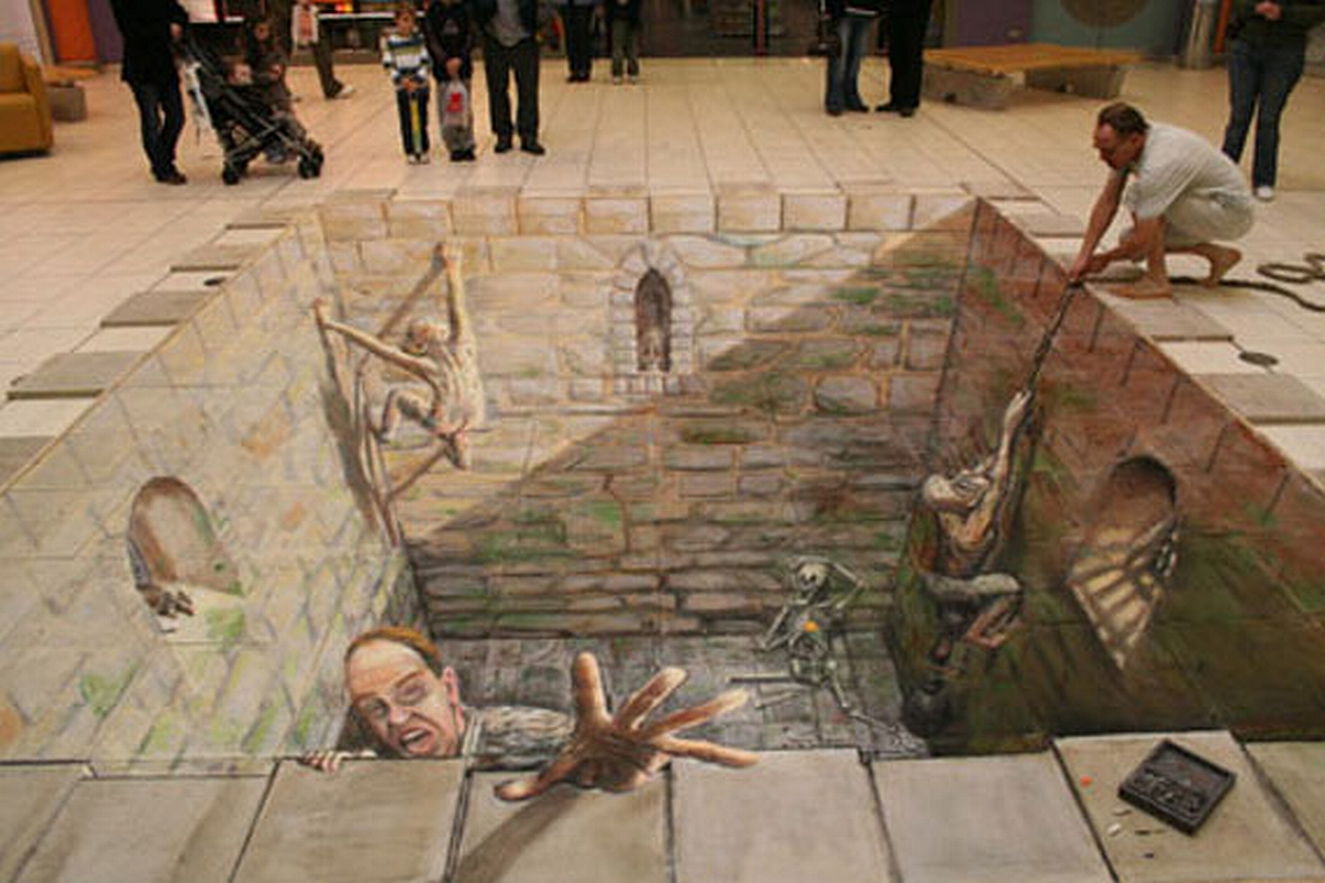 37 Street Art Pictures From Julian Beever Supercubed